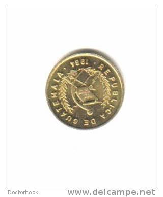 GUATEMALA    1  CENTAVO  1984  (KM # 275.2) - Guatemala