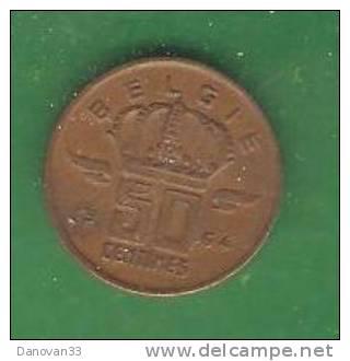 50  Centimes   BELGIE  1964  (PRIX FIXE)   (AU6) - 1951-1993: Baudouin I
