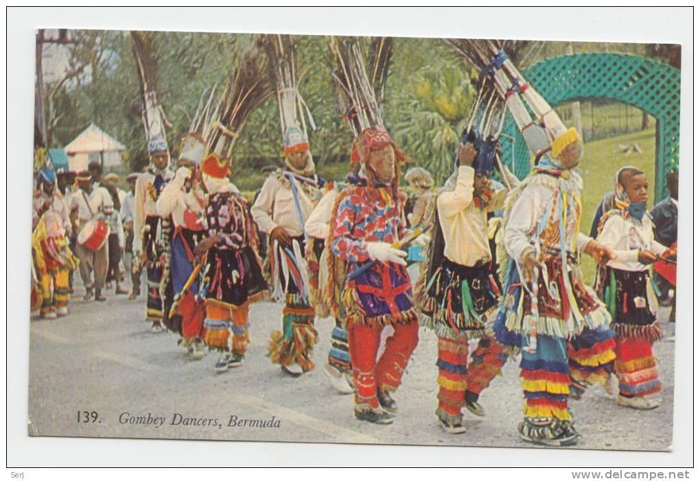 GOMBEY DANCERS  BERMUDA - Bermuda