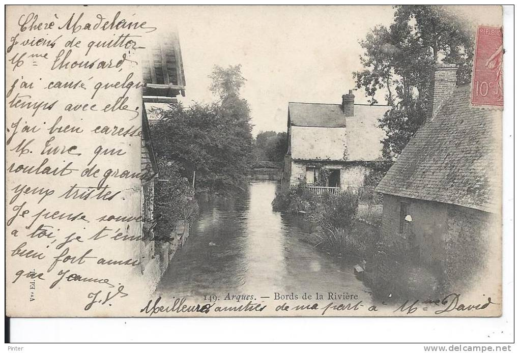 ARQUES - Bords De La Rivière - France