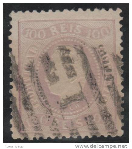 PORTUGAL 1867/70 - Yvert #32 - VFU - Usado