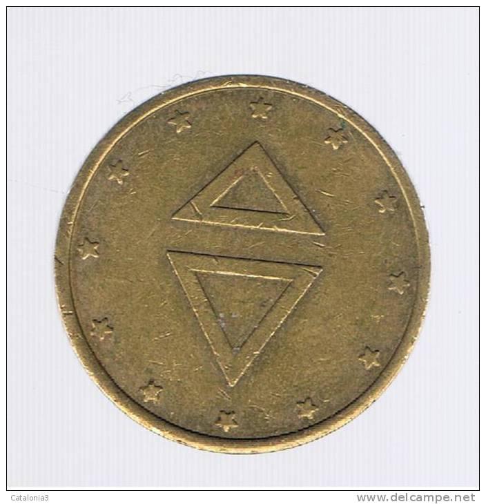 FICHAS - MEDALLAS // Token - Medal # - Sin Clasificación