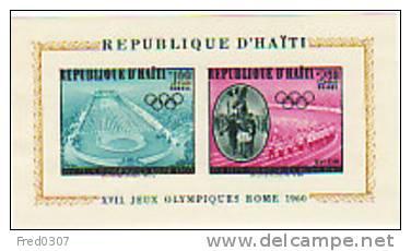 Haïti BF JO 60 ** - Sommer 1960: Rom