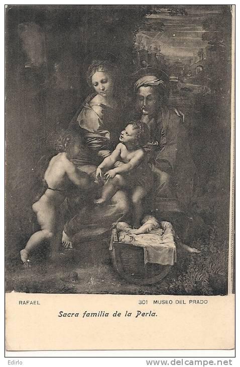 - MADRID  Museo Del Prado   Sacra Familia De La Perla Unused - Madrid