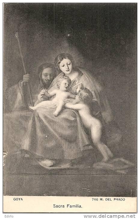 - MADRID  Museo Del Prado    GOYA  Sacra Familia   Unused - Madrid