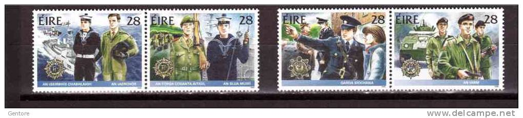 1988 IRELAND  Irish Army   Michel Cat N° 658/61  Absolutely Perfect MNH ** - Ireland