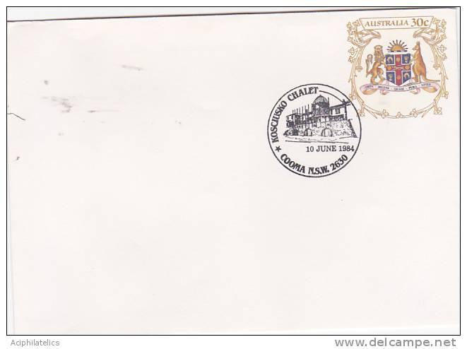 Australia..: 1984 Kosciusko Chalet, Pictorial Postmark - Postmark Collection