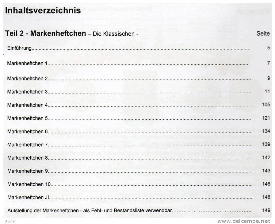 Teil 1-3 DDR Zusammendrucke + Markenhefte RICHTER 2013 Neu 75€ Zierfelder Se-tenant Booklet Special Catalogue Of Germany - Deutsch