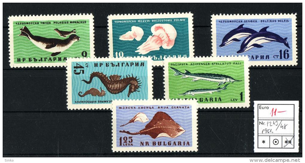 1961. Topics Animals & Fauna - Bulgaria :) - Stamps