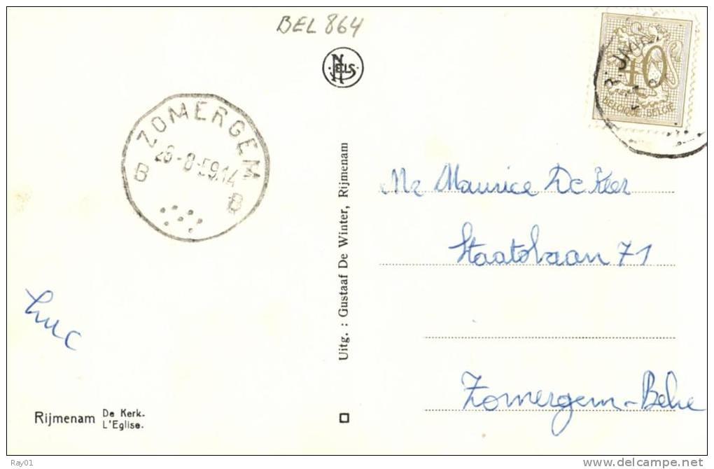 BELGIQUE - ANVERS - BONHEIDEN - RIJMENAM - De Kerke - L'Eglise. - Bonheiden