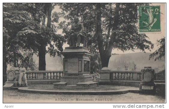 ARBOIS (.monument PASTEUR) - France