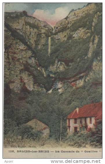 """SALINS LES BAINS ( La Cascade De """"goailles"""" ) - Autres Communes"""