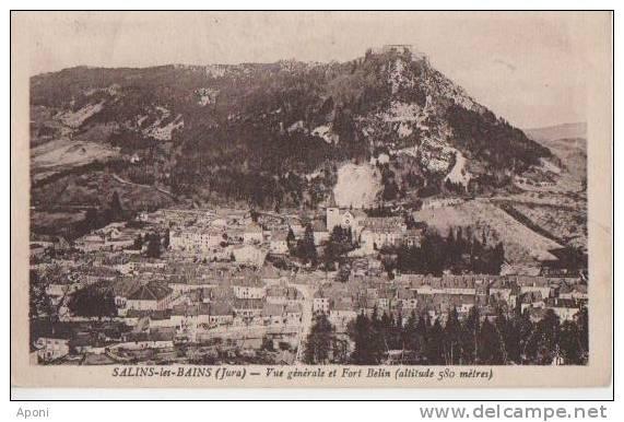 .SALINS LES BAINS (vue Generale Et Fort Belin ) - France