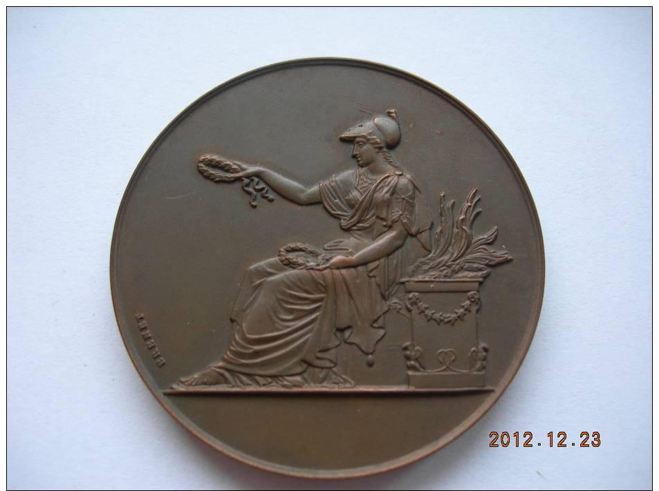 Medaille bronze 63g 45mm 1951 chambre departementale des - Chambre departementale des notaires 29 ...