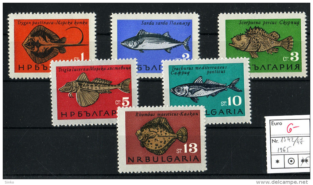 1965. TopicsAnimals & Fauna - Bulgaria :) - Stamps