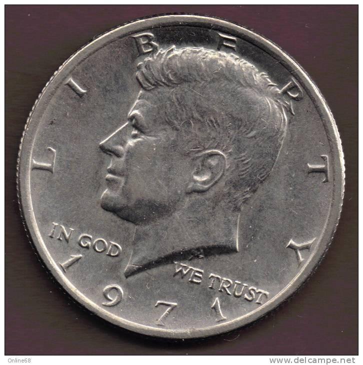 USA 1/2  DOLLAR 1971 - 1964-…: Kennedy