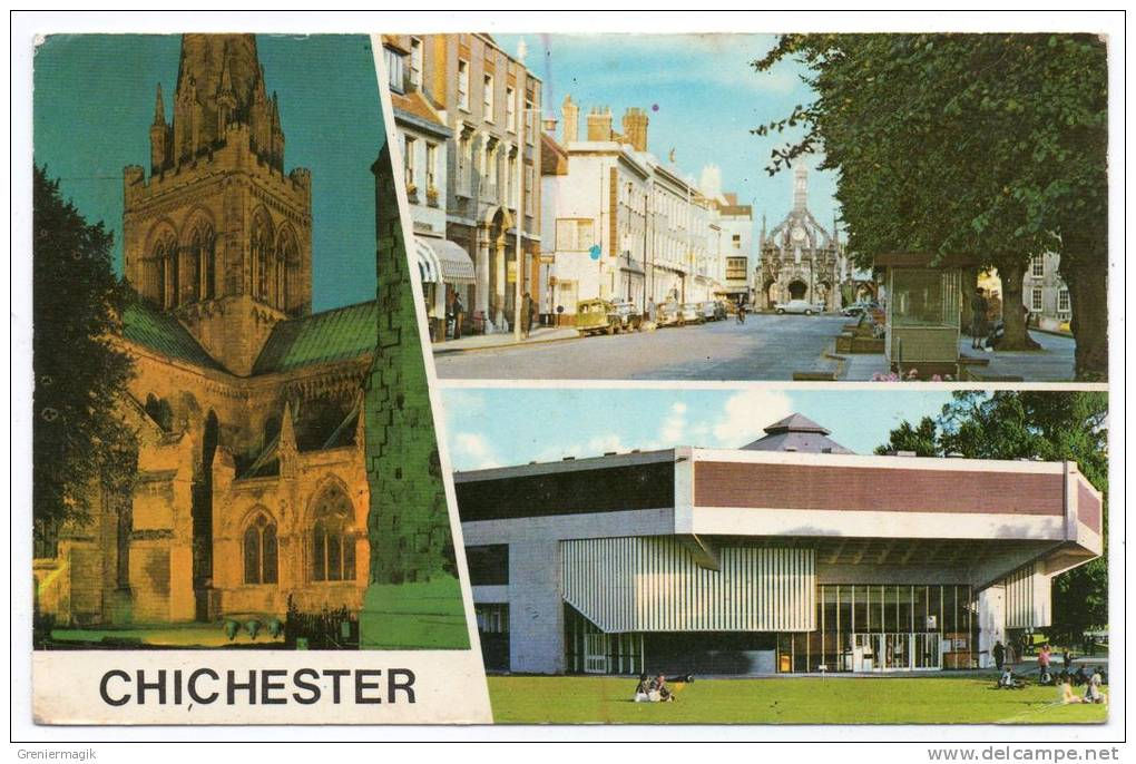 Chichester - West Street - Festival Theatre - Cathedral - (9x14 Cm) - Chichester