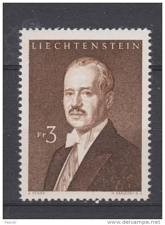 Yvert 349C * Neuf Avec Charnière - Liechtenstein