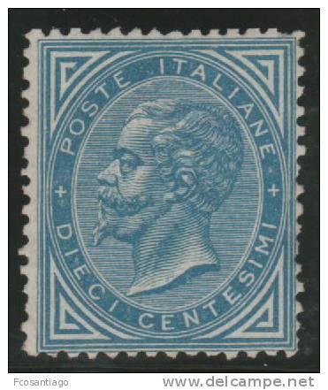 ITALIA 1863/77 - Yvert #16 - MLH * (Very Rare!) - Nuevos