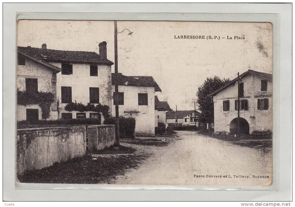 LARRESSORE (64) / La Place / Cachet D'Hôpital Auxilliaire N°216 De Larressore Au Dos - Frankrijk