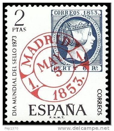ESPAÑA 1973 - DIA DEL SELLO - EDIFIL Nº 2127 - Yvert Nº 1781 - Timbres Sur Timbres