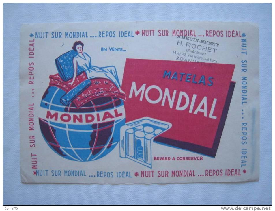 Buvard Matelas Mondial Repos Ameublement Rochet Roanne - Colecciones & Series