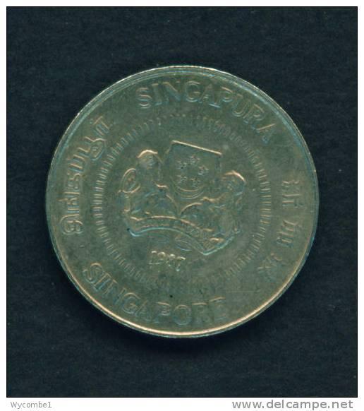 SINGAPORE - 1987 50c Circ - Singapore