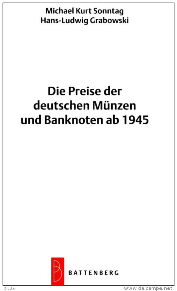 Deutschland Ab 1945 Noten Münzen 2016 New 10€ D AM- BI- Franz.-Zone SBZ DDR Berlin BUND EURO Coins Catalogue BRD Germany - Deutsch