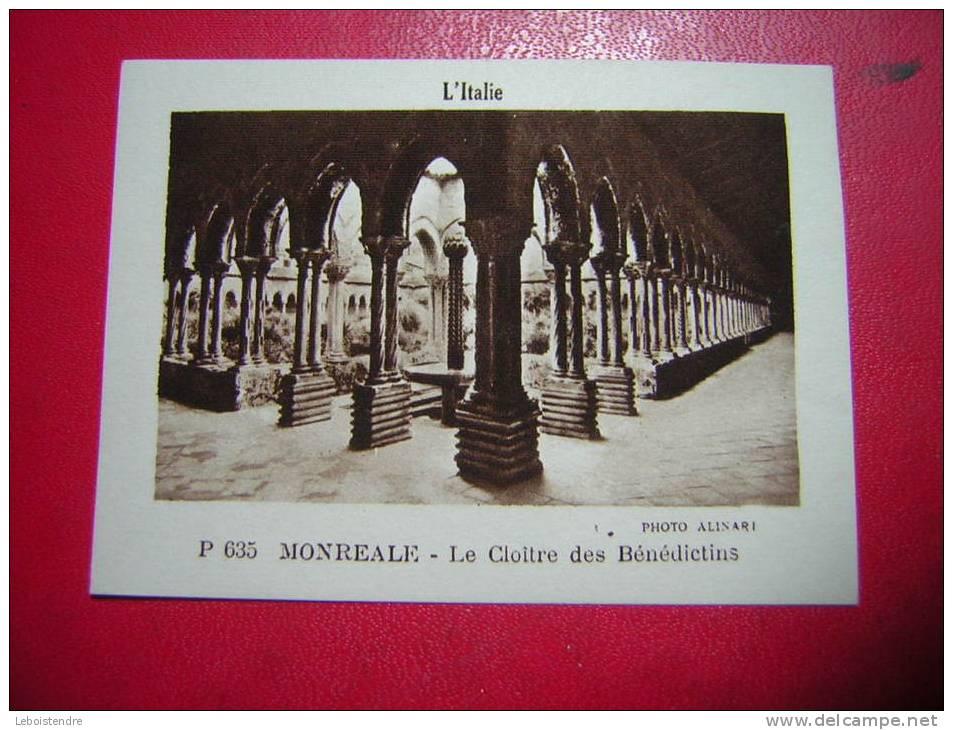 IMAGE DE  LA VACHE QUI RIT L´ ITALIE P 635 MONREALE LE CLOITRE DES BENEDICTINS - Old Paper