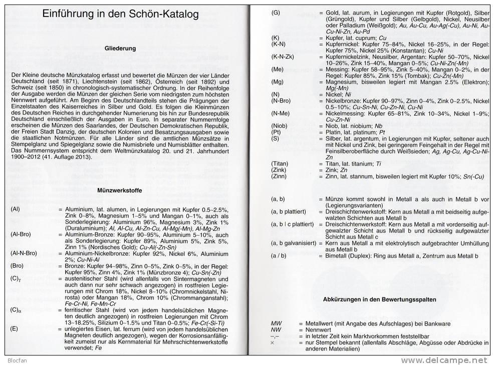 Kleiner Münzkatalog Schön 2013 Neu 15€ Für Numis-Briefe Coin Of Germany Austria Helvetia Liechtenstein 978-3-86646-097-3 - Creative Hobbies