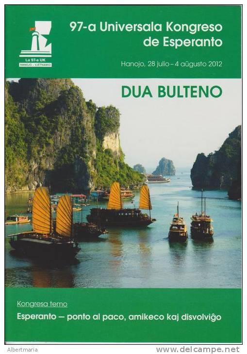Esperanto 2nd Bulletin Congress 2012 Hanoi - Dua Bulteno Universala Kongresa 2012 Hanoi - Oude Boeken