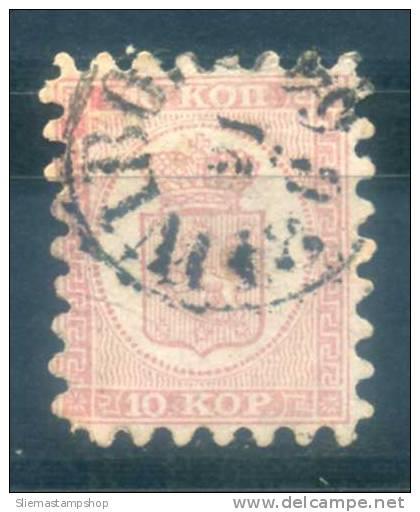 FINLAND - 1860 PERF II - Usati