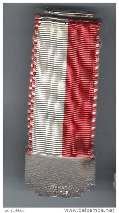 SUISSE/ Médaille/ Sport/TIR/Hulftenschanz Schiessen/Monument/FREKENDORF/Bâle Campagne/Huguenin/Le Locle/1945      SUI39 - Sports
