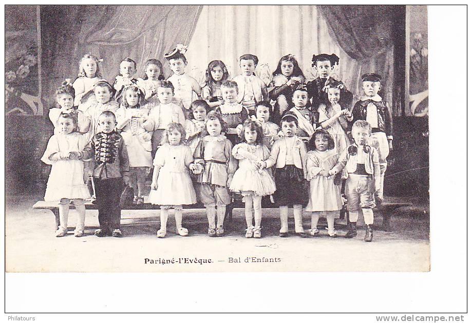 Parigné-L'Evêque  --   Bal D'Enfants - France
