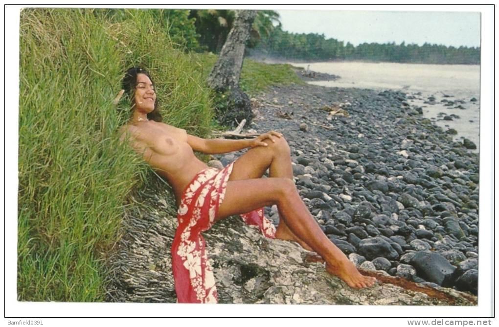 Голые таитянки фото