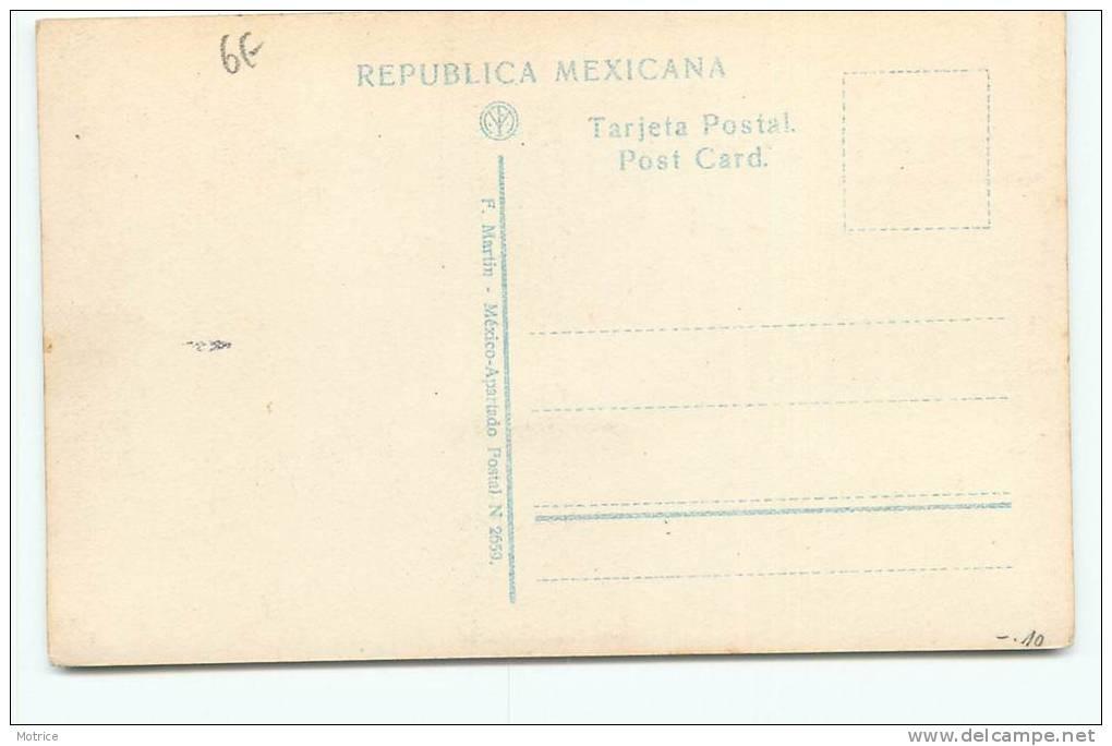 MEXICO  - Plaza Dinamaca. (en 1928) - Mexique