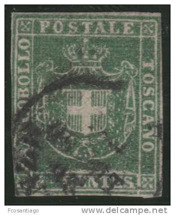 ITALIA 1860 (TOSCANA) - Yvert #18 - VFU - Toscana