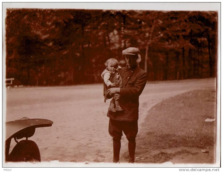 Foto Photo (9 X 12 Cm ) Rue De La Sapiniere 101 Boitsfort Boisfort 1928 - Watermael-Boitsfort - Watermaal-Bosvoorde