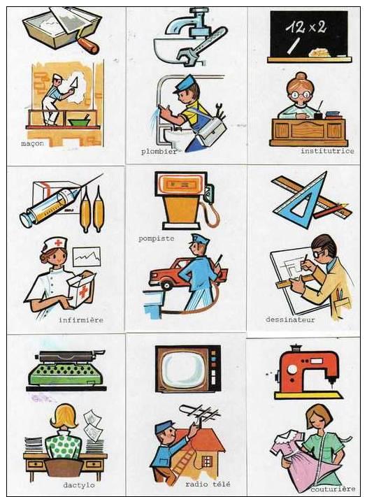 Boîte De 100 Bons Points Pour Les Enfants Sages, Editions LITO 1999, Les Métiers - Autres