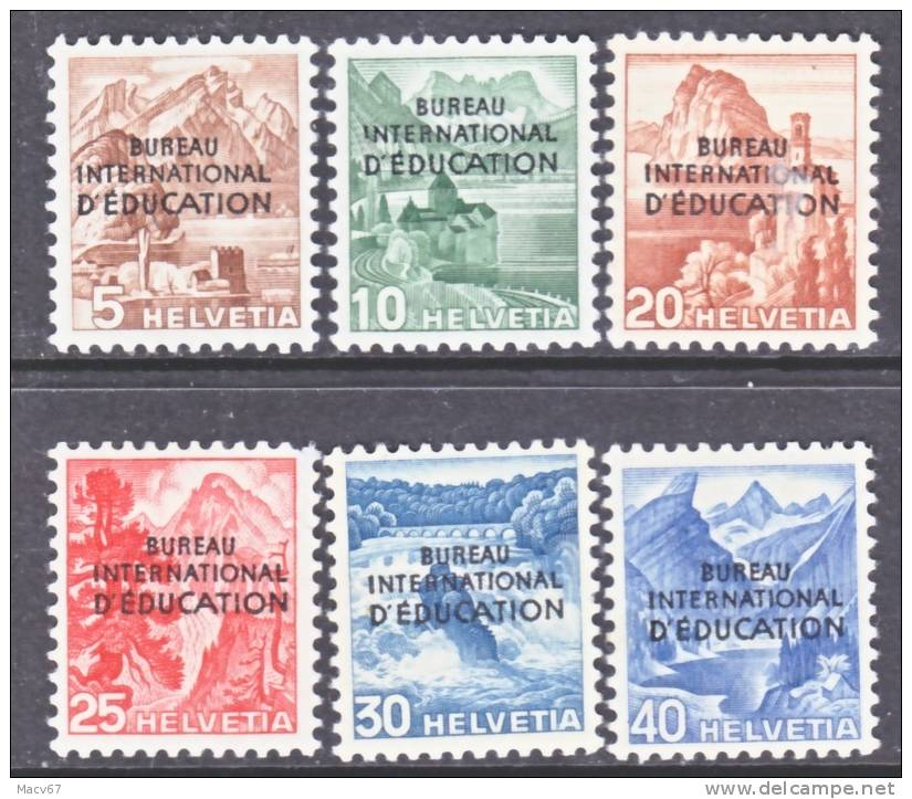 Switzerland 4 O 23-8   *    BUREAU Of  EDUCATION - Officials