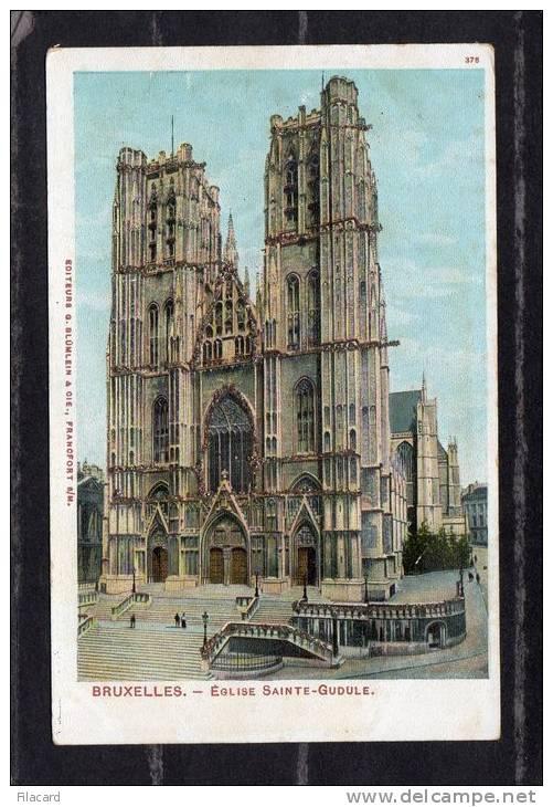 37448     Belgio,   Bruxelles -  Eglise  Sainte-Gudule,  NV - Monumenti, Edifici