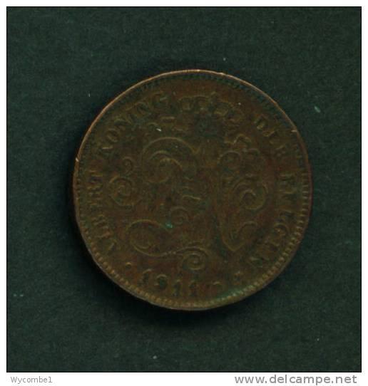 BELGIUM - 1911 2c Circ. - 02. 2 Centimes