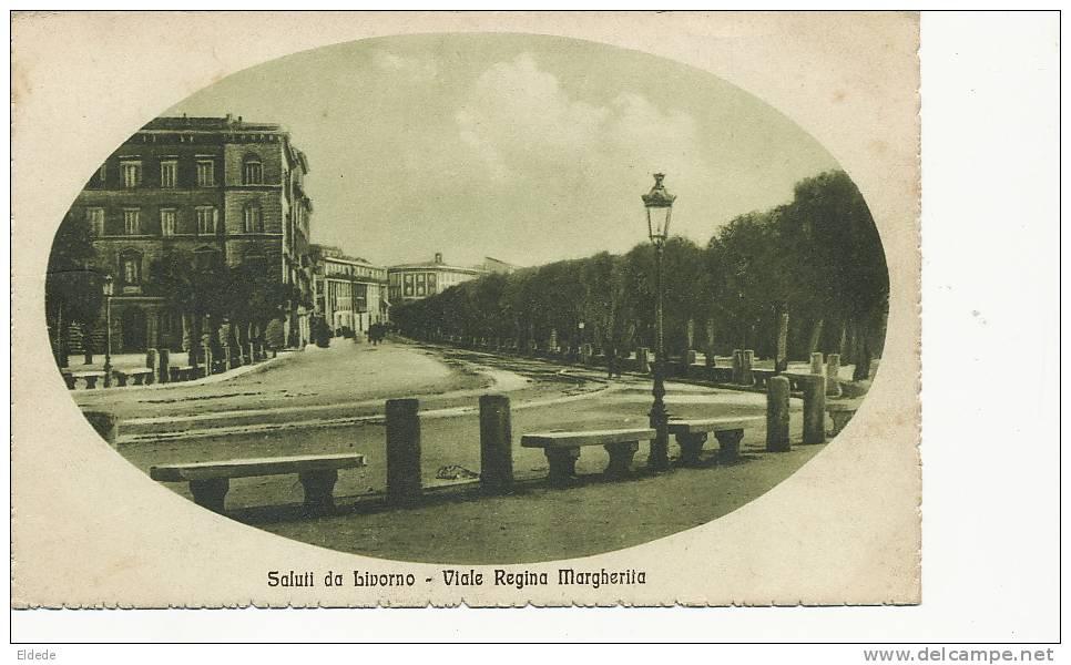 Livorno  Viale Regina Margherita Edit Pilade Sorenzo 04734 - Livorno