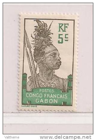 GABON  ( GABO - 11 )  1910   N° YVERT ET TELLIER  N°  36   N* - Gabon (1886-1936)