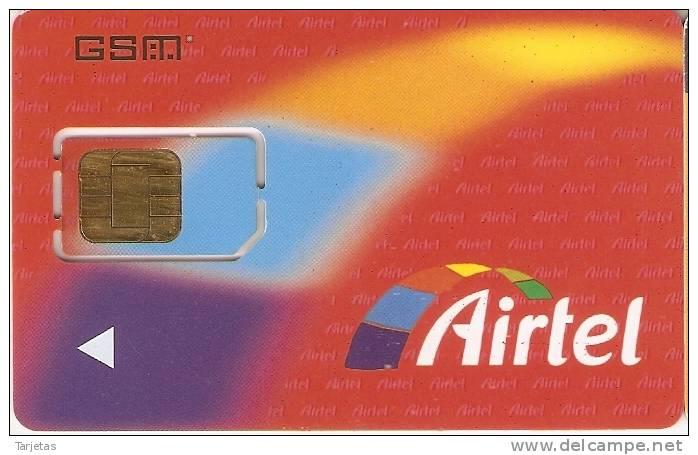 A-020 TARJETA GSM DE ESPAÑA DE AIRTEL - Spain