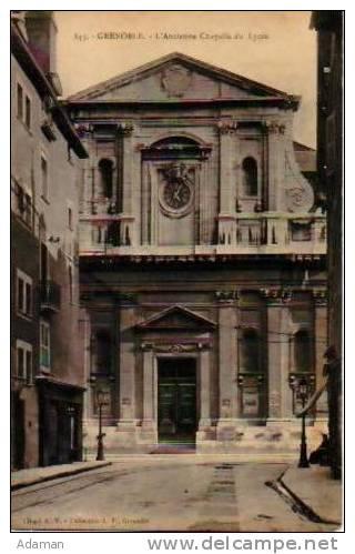 Grenoble   193        L'ancienne Chapelle Du Lycée  . - Grenoble