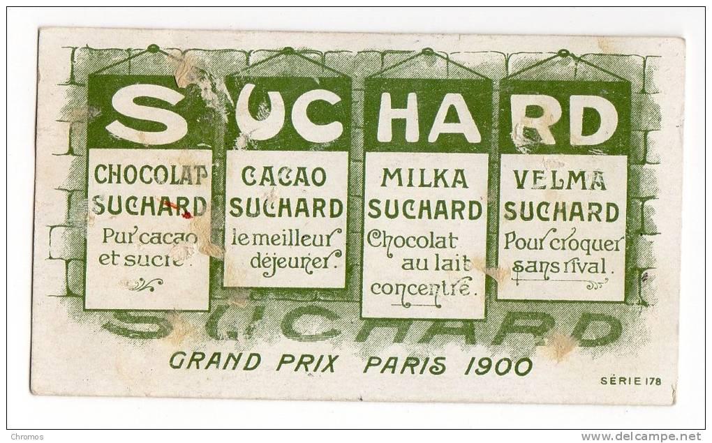 Chromo SUCHARD, 178 / 12: Velo, Bicyclette - Suchard
