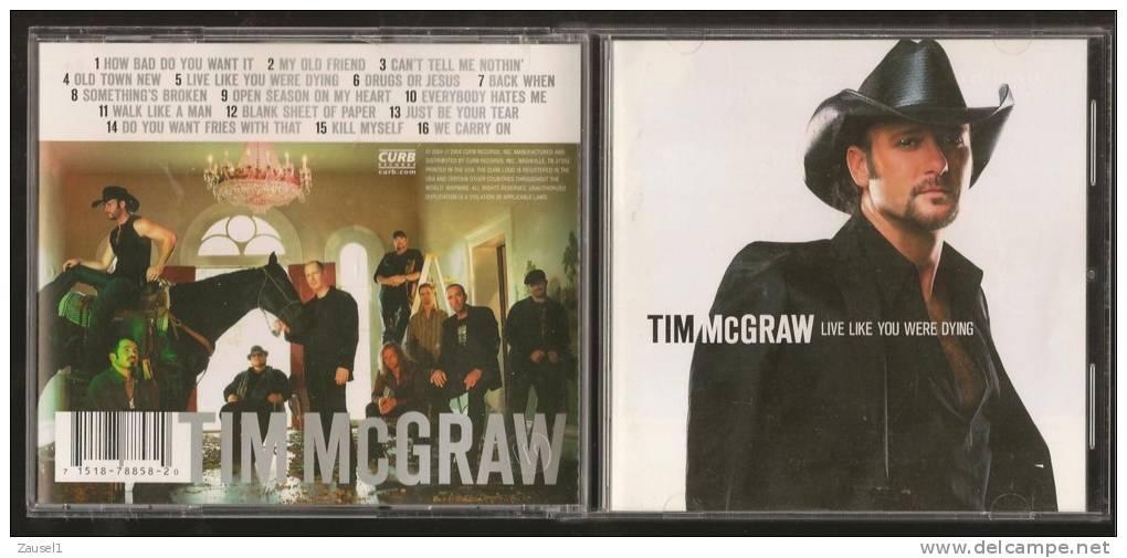 Tim McGraw - Live Like You Were Dying - Original CD - Country & Folk