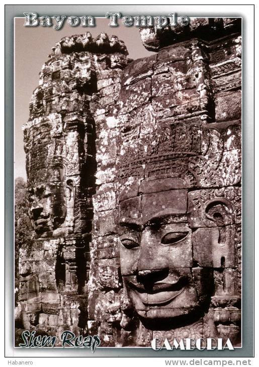 CAMBODIA - BAYON TEMPLE- ANGKOR THOM - SIEM REAP - PERFECT MINT QUALITY - Cambodia