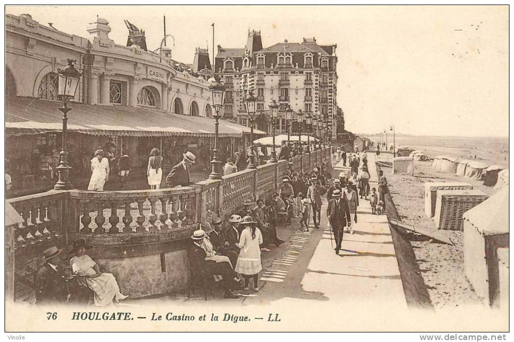 Réf : B.E-13-032 : Houlgate Le Casino - Houlgate
